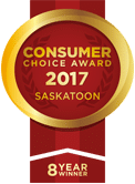 Lux Overhead Doors Consumer Choice Awards Logo